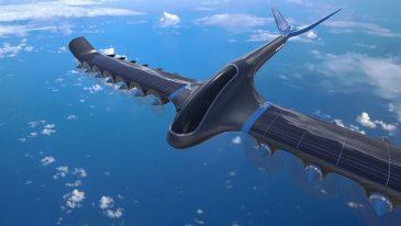 samolot zasilany wodorem